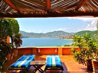 Photo for Zihuatanejo Dreamin'..Heavenly Vistas, 5 Minutes Walk to Beach