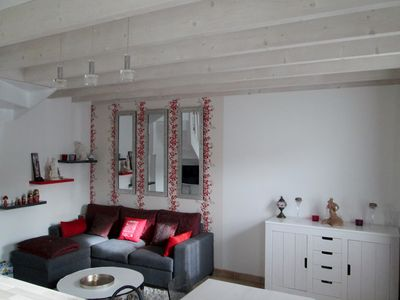Photo for Charming House in quiet coastal village near La Rochelle in Marsilly