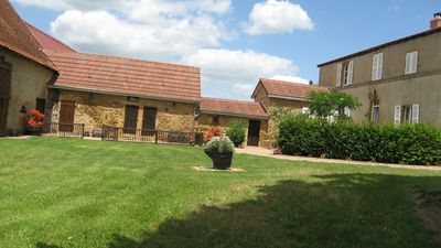 Photo for Family home with many dépendances on 8000 m² of closed garden/14 people