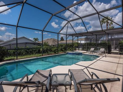 Photo for Spacious home with private pool and spa, lanai, with resort access!