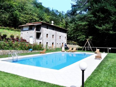 Photo for Stunning Old Stone Tuscan Villa near Lucca & Pescaglia with a great private pool