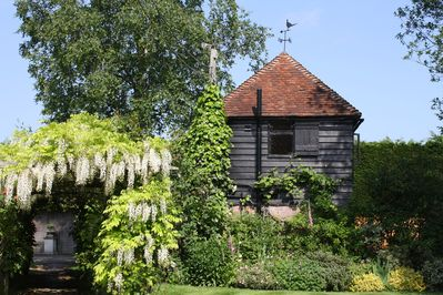 The Granary from the garden