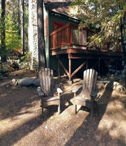 Photo for Knotty Pine Vacation Cabin with Lake Membership