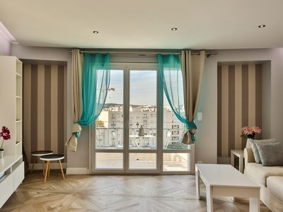 Photo for Easy Lifestyle Apartment in Cannes 2 mn from the beach