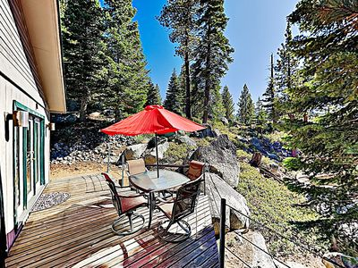 Photo for New Listing! Heavenly Ski Retreat w/ Private Hot Tub - 3 Minutes to Lifts