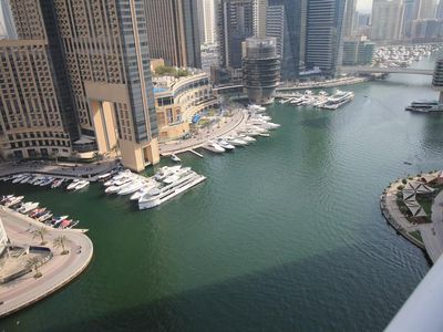 Photo for 2 bed room apartment with Full Marina View