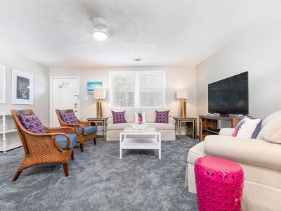 Photo for Latitude Adjustment B: 3 BR / 1 BA condo in Tybee Island, Sleeps 8