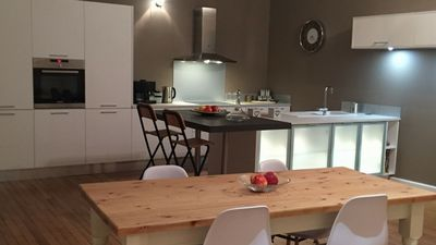 Photo for Beautiful Two Bedroom Apartment set in the Historic Centre of Brive La Gaillarde