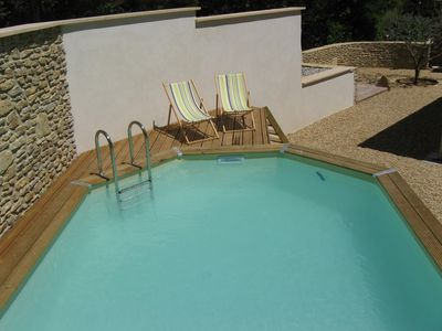 Photo for Recent lodging for 4 people with private pool close to Nature