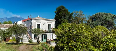 Photo for 18th Century country house with garden and wifi, between the sea and the Etna