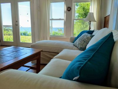Photo for PRIVATE BEACHFRONT,  2BR Sunset cottage on Beach