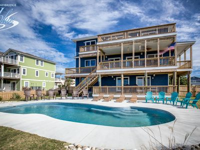 Photo for Down South | 450 ft from the beach | Private Pool