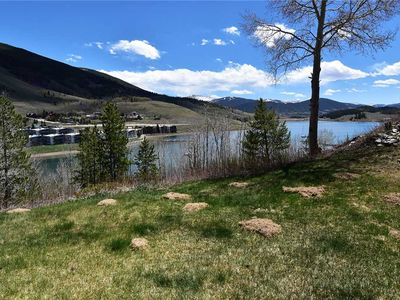 Photo for Dillon Ski Condo - In-Town with Mountain Views, Walk to Restaurants, Parks, Ice Castles