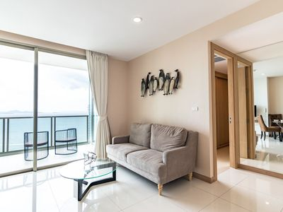 Photo for ⭐Large 2BR on 29Floor⭐Epic Sea View & Facilities - Muang Pattaya