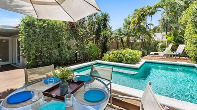**PARADISE PERFECTED @ BEACHSIDE** Modern Home / Pool + LAST KEY SERVICES...