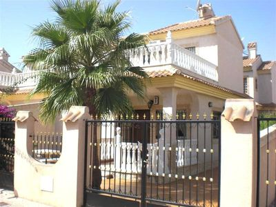 Photo for 87.Villa in Playa Flamenca, Alicante, Costa Blanca, Spain - 3 Bed - Sleeps 6