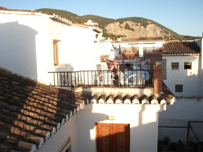 Photo for Charming house,  pretty village, with large pool, gardens, terrace views, WiFi