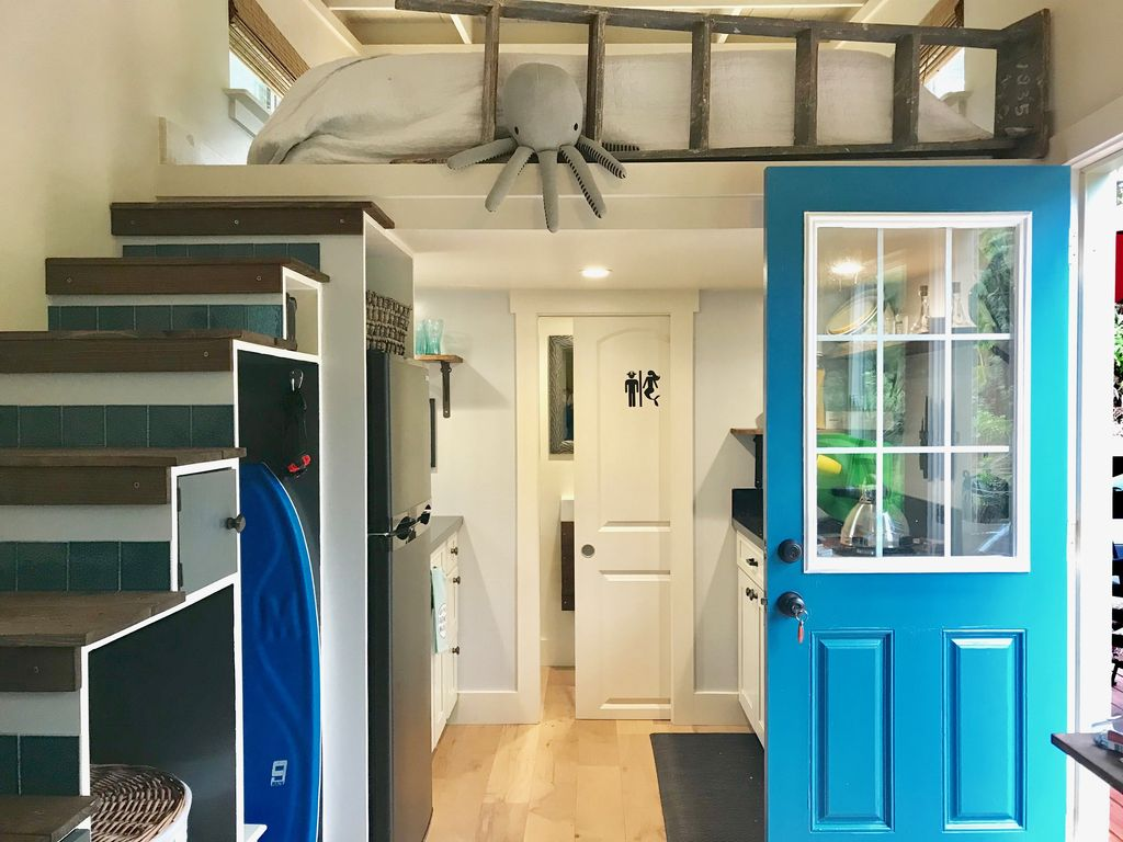 Lil Blue A Charming Tiny House 1 Br Vacation House For