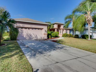 Photo for Waterfront villa w/private pool, access to community pool - drive to beaches!