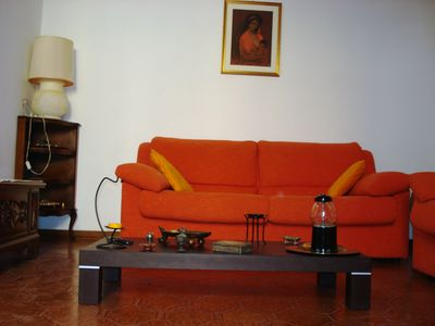 Photo for LARGE AND BRIGHT APARTMENT IN THE CENTER OF PERUGIA