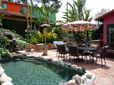 Photo for HOLLYWOOD LOFT IN TROPICAL RESORT SETTING  Pets, spa, pool, BBQ
