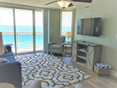 Photo for Newly Renovated spring of 2019, Oceanfront Luxury Condominium