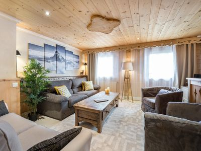 Photo for Le Stan: Chalet atmosphere and comfortable inside
