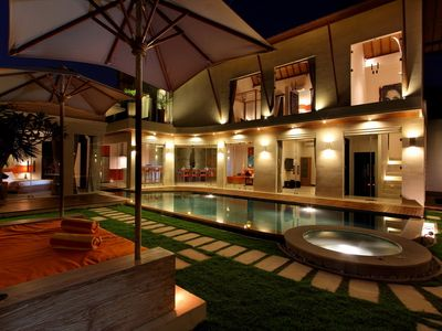 Photo for Spacious Luxury 3 Bedroom Villa, Central Seminyak