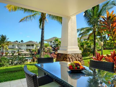 Photo for Plantation At Princeville #612 - UPGRADED interior - close to the pool