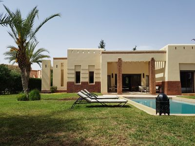 Photo for Luxurious exclusive villa with private pool and garden not overlooked