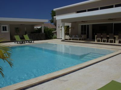 Photo for Beautiful 6 Bedroom Villa with Private Pool, Close to the Beach, Great Service!