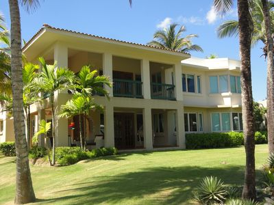 Ground floor entry villa surrounded by beautiful gardens