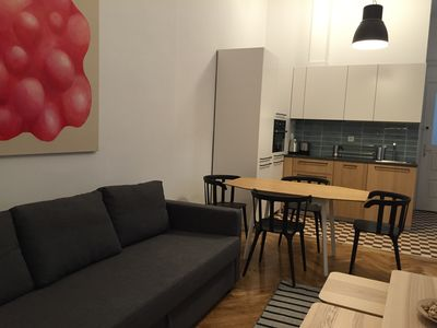 Photo for Artapart Luxury And Art In Budapest - Apartment K4