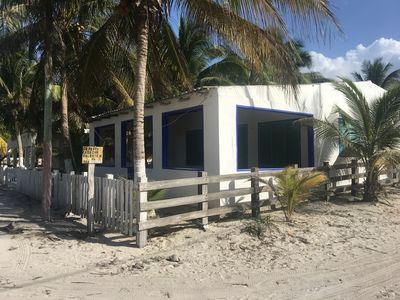 Photo for El Cuyo beach house pets allowed