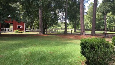 Photo for Guest cabin on working Charleston horse farm.  8 Miles to downtown Charleston