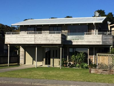 Photo for Ocean front home at Ohope Beach.