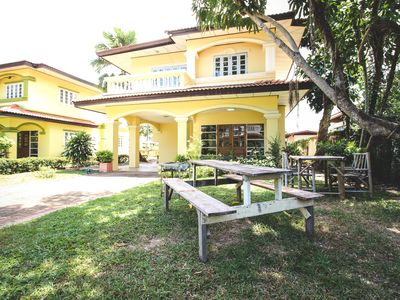 Photo for Baan Rim Had, 3BR, 1 min walk to private