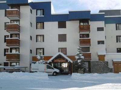 Photo for Apartment for two people with balcony on south-east in Val Thorens