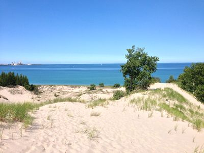Photo for GREAT LOCATION! Sunsets, Lake Michigan  justs steps away