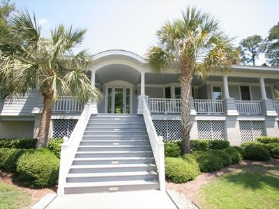Photo for Kiawah Island - 4BR, 1 Level Home Behind Second Security Gate