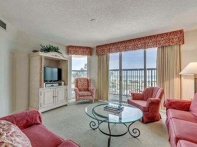 Photo for Gorgeous 3 Bedroom Oceanfront Condo, AshWorth 103!