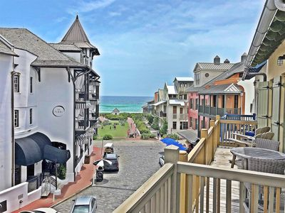 Photo for Gulf Views - Penthouse Condo in Rosemary - 2 Bikes Incl - Professionally Decorated - `Seas the Stars