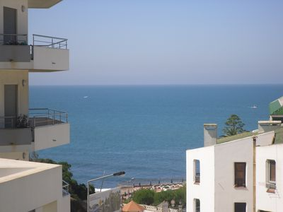 Photo for Apartment with Sea View in the center by the beach