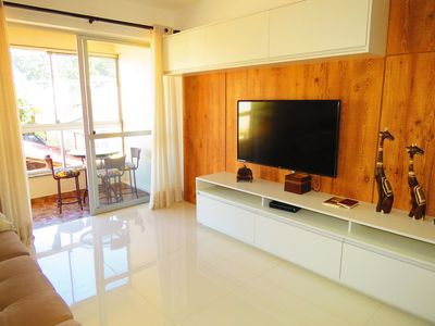 Photo for Code 142 Beautiful apartment on the main avenue of Bombinhas - Solar de Bombinhas