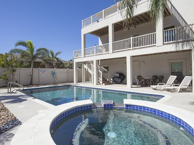 Photo for Very Spacious Modern Beach House with Large Private Pool & Hot Tub!