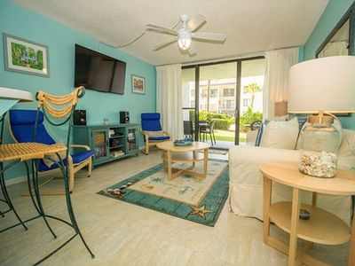 Photo for Spectacular 1 Bedroom 2 Bathroom Ground Floor Condo Close to Beach