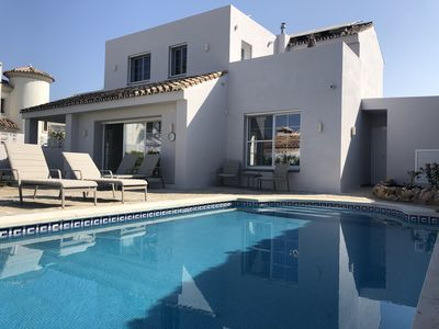 Photo for Superb Quality New Modern Style Villa In Las Chapas, Marbella!