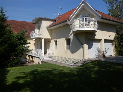 Photo for Holiday apartment with children's playground and covered balcony