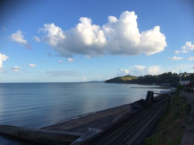 View from the terrace towards Torbay