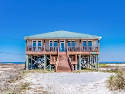 Photo for Waterfront, dog-friendly home w/ full kitchen plus gulf & bay views!